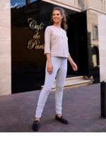 Блуза с планкой
