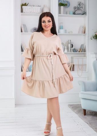 Платье со шнурком