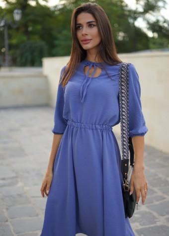 Жатое платье