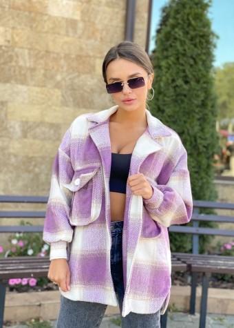 Рубашка-пальто с карманами