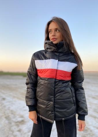 Куртка с полосками
