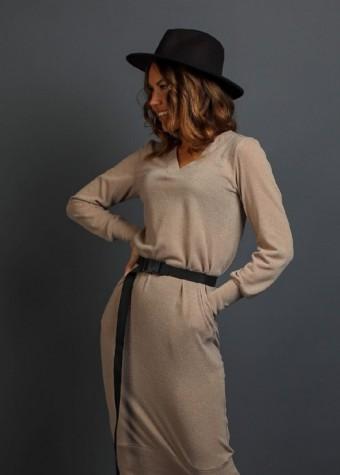 Ангоровое платье