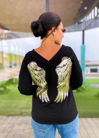 Джемпер с крыльями