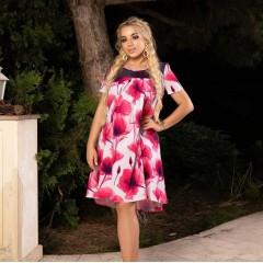 Платье №4687-с455